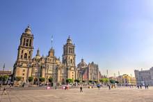 Mexico City Zocalo, HDR Image