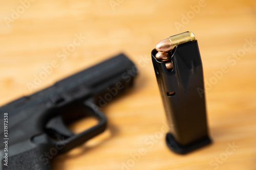 Photo Guns and ammo used for home protection
