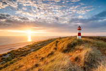 List Ost Lighthouse, Sylt Isla...