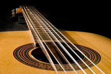 Classical Guitar With Vibratin...