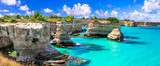 Wonderful sea scenery in Puglia.