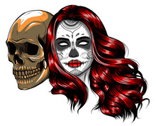 Skull - Day Of The Dead Party....