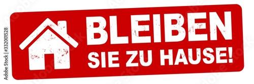Vászonkép nlsb1420 NewLongStampBanner nlsb - Haus Banner - german label - Schild mit der S