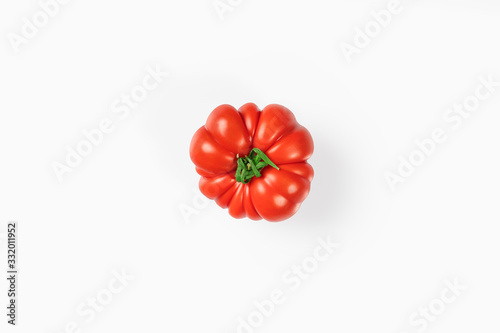 Valokuva Pomodoro sfondo bianco