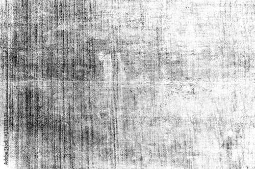 Distressed overlay texture of weaving fabric. grunge background