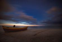 Plaża Dębki Nocą 03