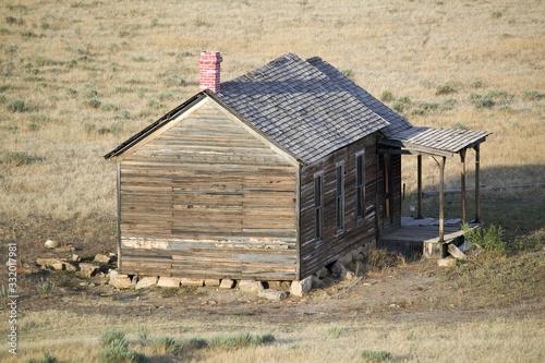 Photo Pioneers cabin near Hot Springs, South Dakota