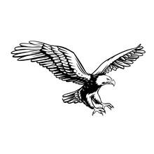 Eagle Retro Icon