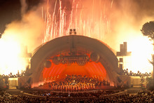 1812 Overture With Fireworks At The Hollywood Bowl, Los Angeles, California
