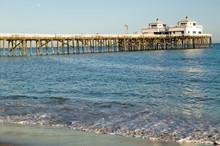 The Newly Remodeled Malibu Pier, Malibu, California