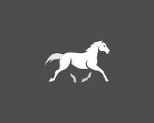 Abstract Logo Horse Vector Gre...