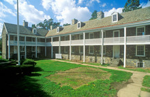 Historic Barracks In Trenton, NJ