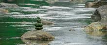 River Stone Balance