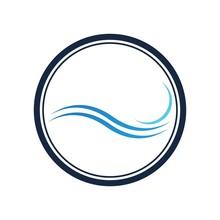 Wave Symbol Vector Illustratio...