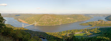 Panoramic View Overlook In Aut...