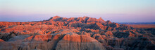 Sunset Panoramic View Of Mount...