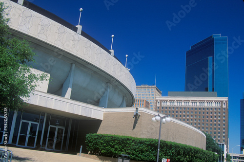 Obraz na plátne Tarrant County Convention Center, Ft. Worth, TX