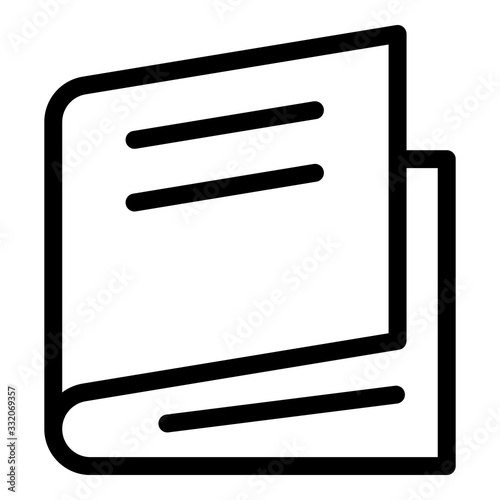 Photo Ajar book icon