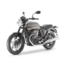 Classic Cruiser Motorcycle With Two-Cylinder Engine Isolated On White Background. Modern Sportbike. Side View Of Retro Bike. Vintage Personal Transport. 3D Rendering