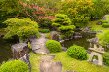 Kokoen Garden At Himeji Castle...