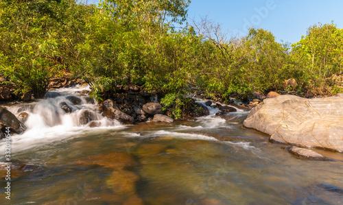 Fotografia, Obraz River Palpala near lulung, Similipal National Park,Orissa