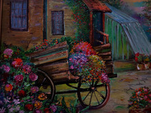Art Painting Fine Art Oil Colo...