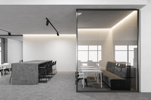 White Office Cafe With Bar, Si...