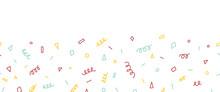 Party Doodles Seamless Vector ...