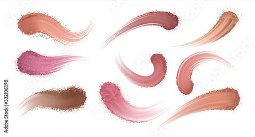 Fotografie, Tablou Realistic eyeshadow powder