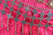 Leinwanddruck Bild - Close up of a hand made jewellery