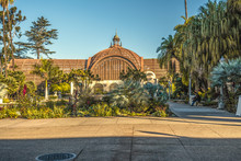 Botanical Building In Balboa Park In San Diego