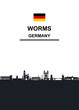 Worms Skyline