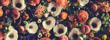 Vintage Bouquet Of Beautiful D...