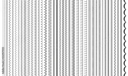 Cuadros en Lienzo Sewing stitches