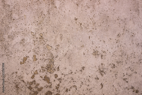 Rome, Italy - Texture, pattern, background. Marble slab, travertine used in construction and architecture for walls and cladding.