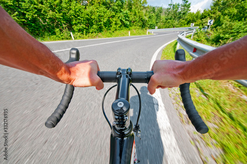 Fototapeta Road cycling obraz