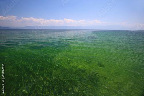 Valokuva Lake Ohrid in Albania inscribed on the Unesco list