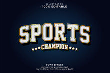 Sports Text Effect
