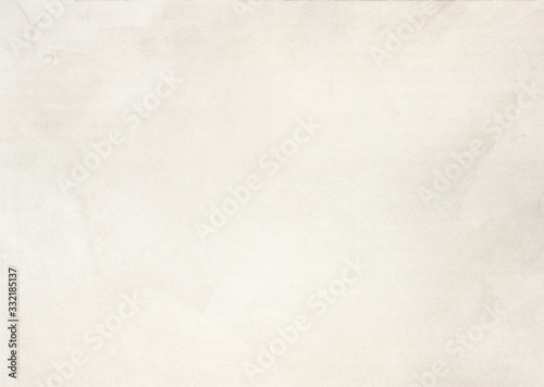 White beige paper texture background Canvas Print