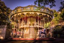 Traditional Carousel Ride, Mon...