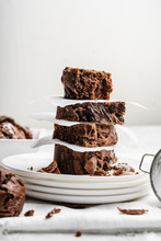 Healthy Baked Homemade Brownie...
