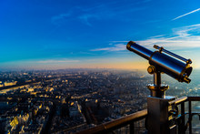 View From Eiffel Tower With Be...