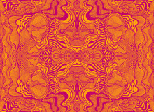 Abstract Psychedelic Fractal P...