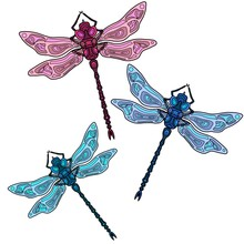 Colorful Dragonflies
