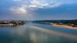 Vista Aérea de Vila Nova de Milfontes Portugal