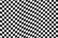 Checkered Flag, Race Flag Back...
