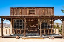 Old Wooden Wild West Cowboy Bu...