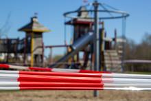 Playground Cordoned Off Becaus...