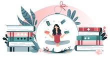Character Woman Juggle Book, D...