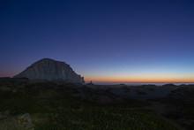 Morro Rock Sun Set
